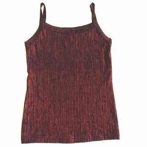 5$ ADD ON Le Château | Red & Black Tank Top